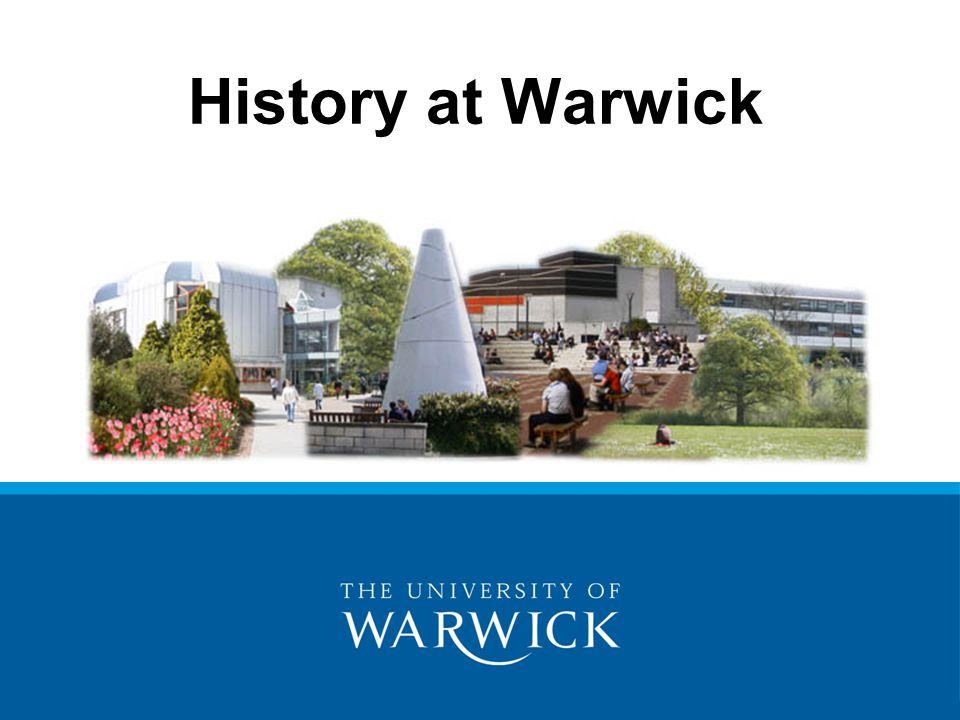History at Warwick