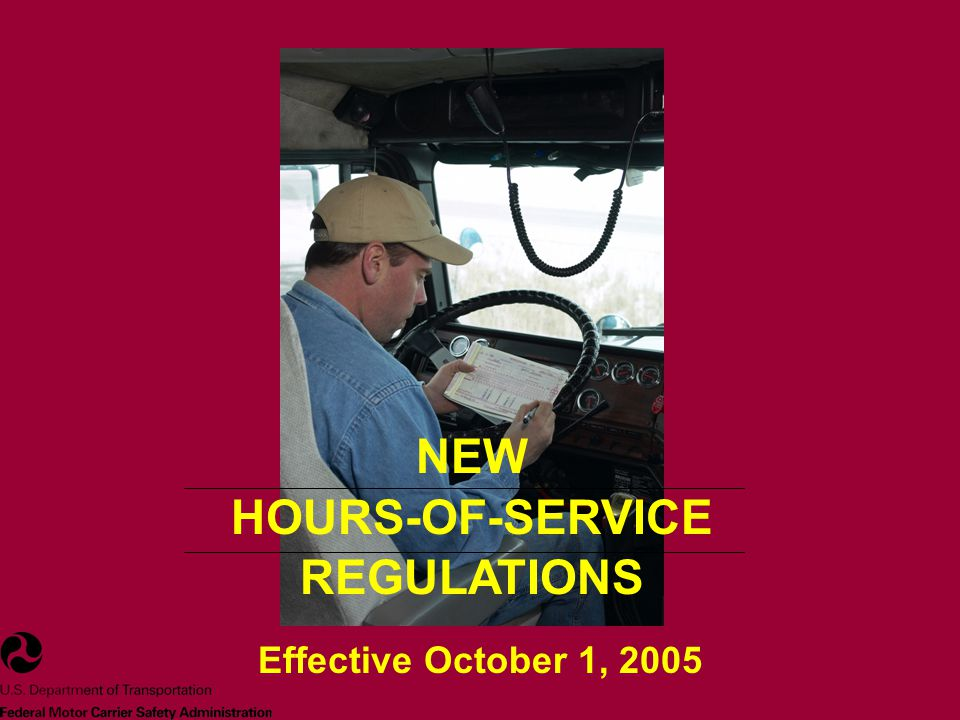 IMPACT ON INDUSTRY This regulation – Provides an increased opportunity for drivers to obtain necessary rest and restorative sleep.