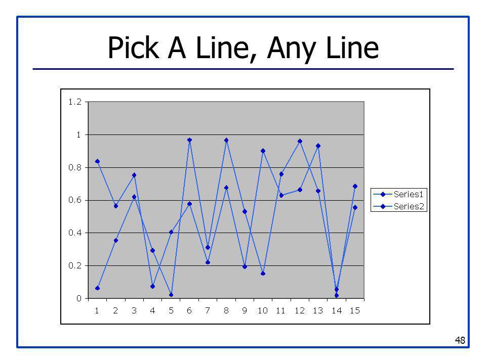 48 Pick A Line, Any Line