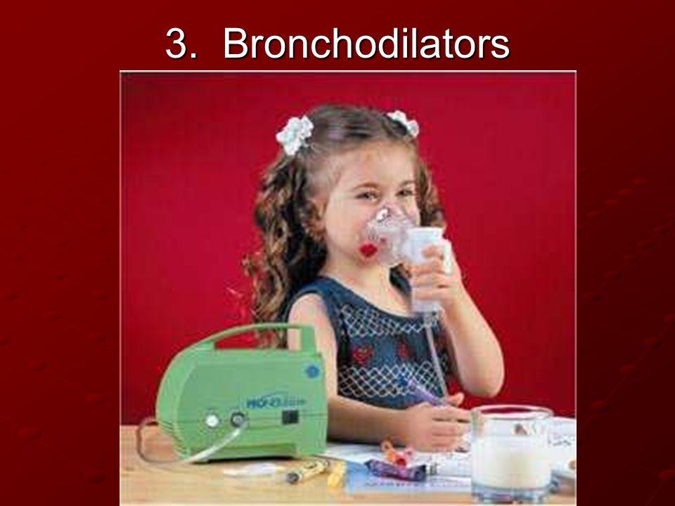 3. Bronchodilators