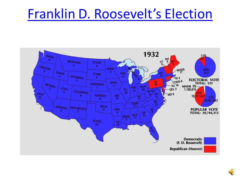 Franklin D. Roosevelt's Election