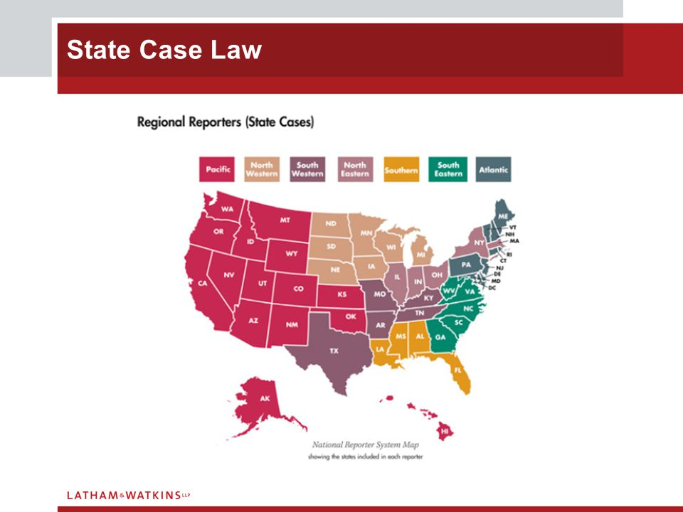 State Case Law