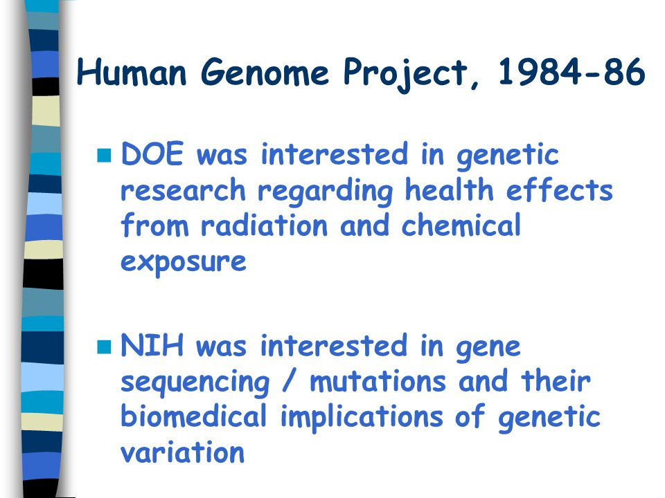 Draft Sequences, 2001 International Human Genome Sequencing Consortium ('public project') –Initial Sequencing and Analysis of the Human Genome.