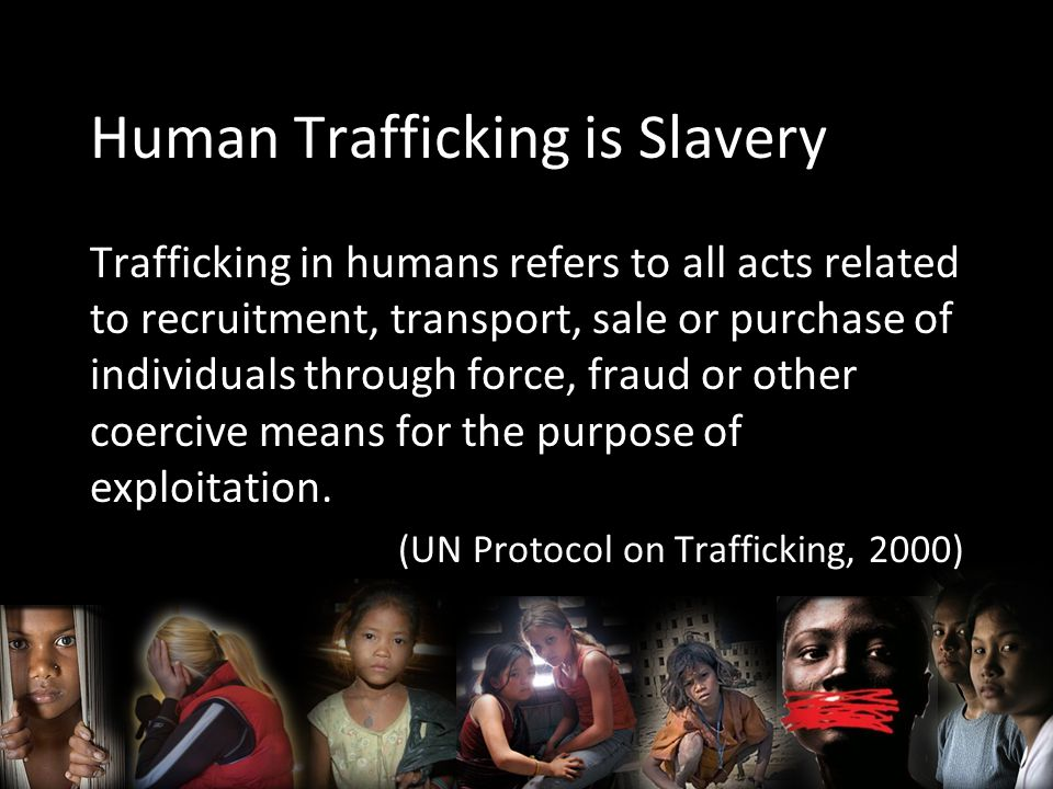How many people are enslaved.27 million people are enslaved worldwide (Dr.