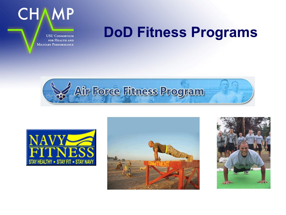 DoD Fitness Programs