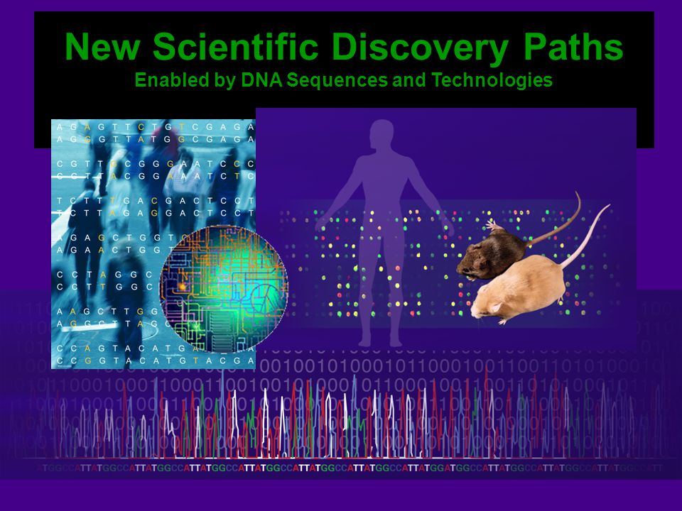 New Scientific Discovery Paths Enabled by DNA Sequences and Technologies