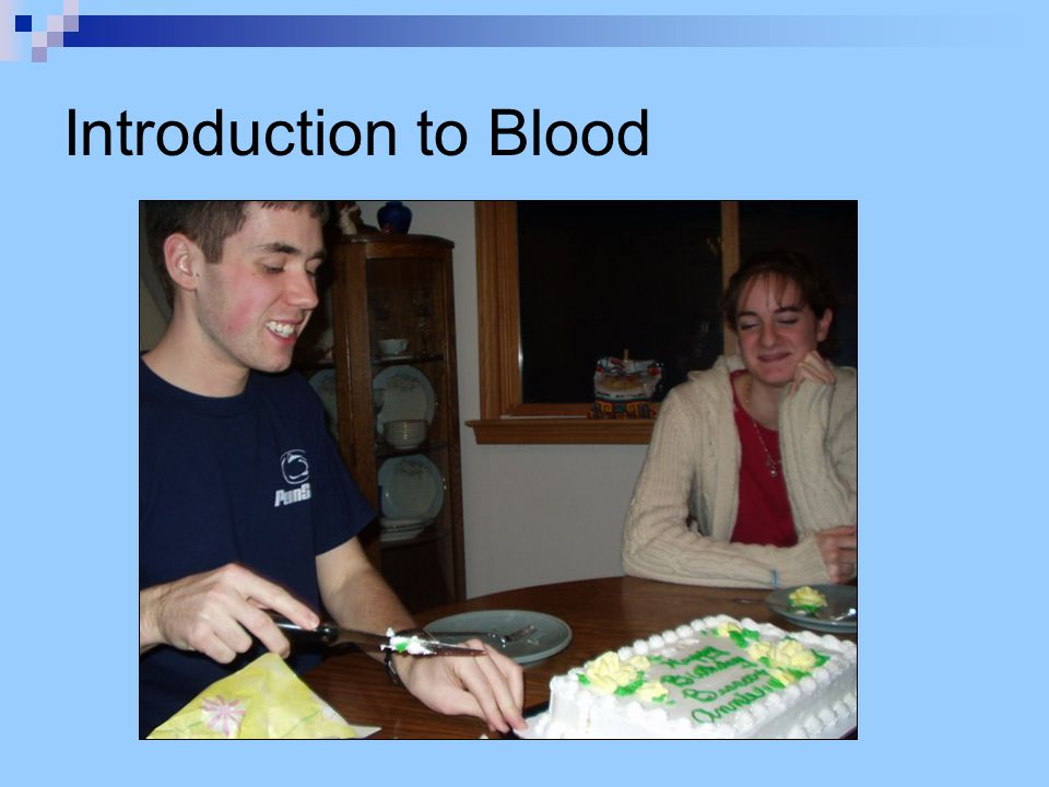 Forensic Analysis of Blood 1.Visual examination of evidence 2.
