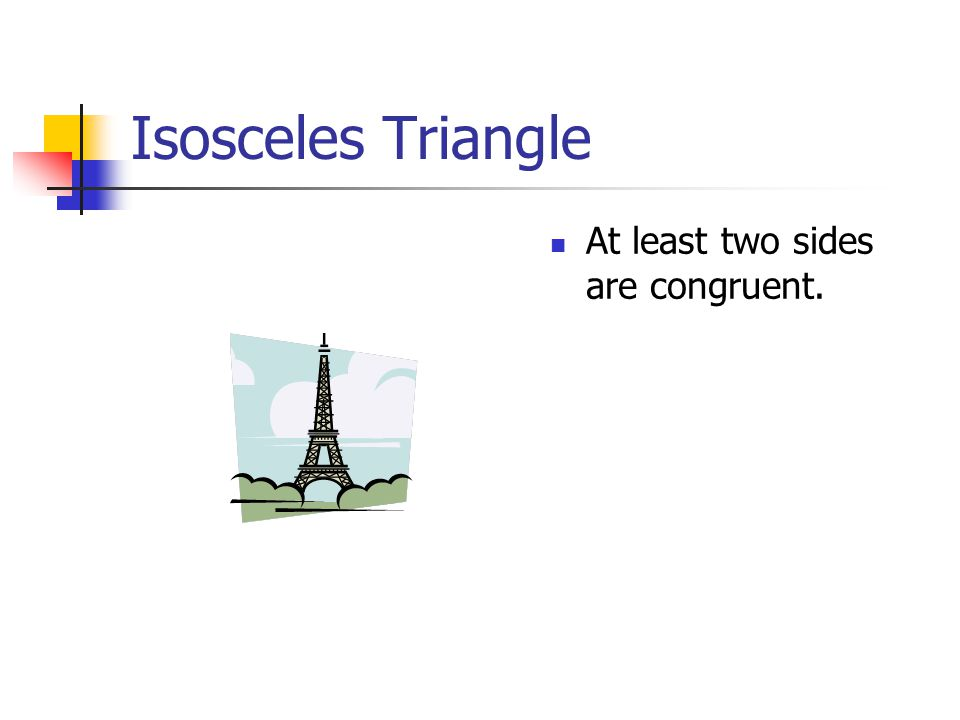 IDENTIFY TRIANGLES By sides By angles