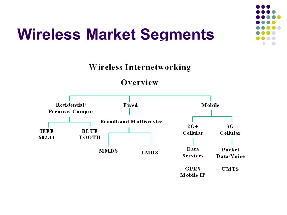 Wireless Market Segments