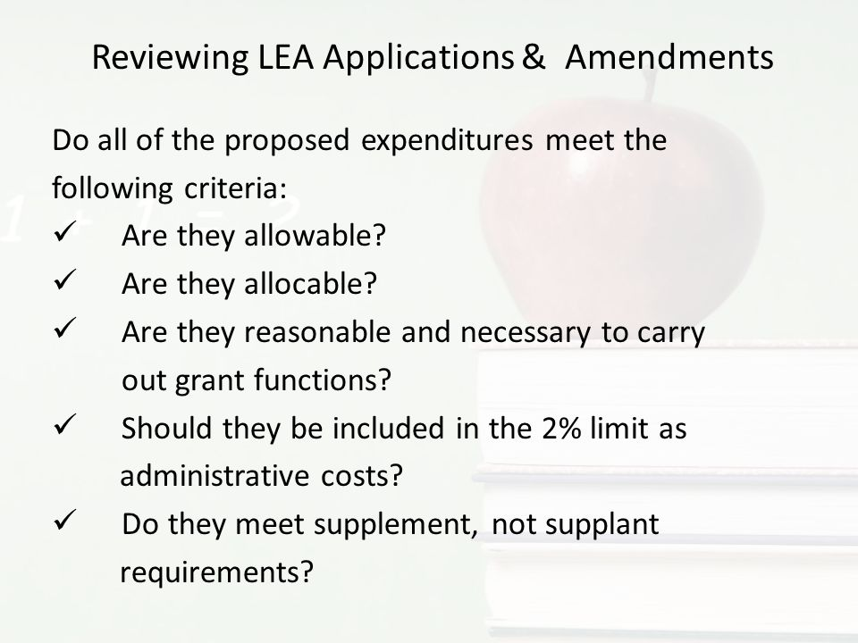 Question #8: Would this be an allowable use of Title III funds.