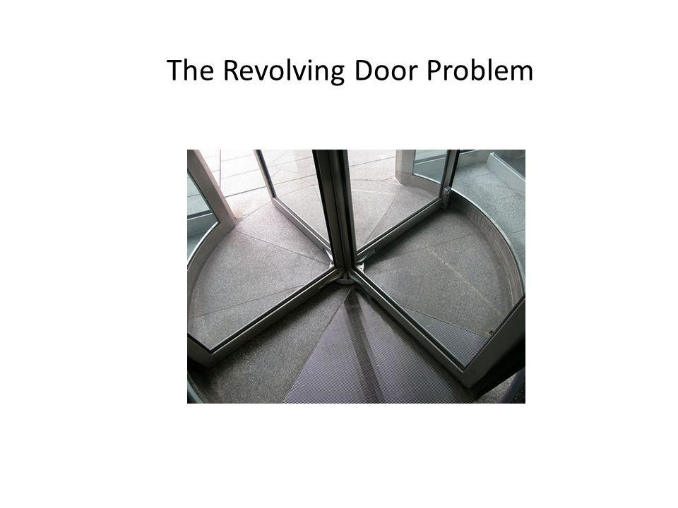 The Revolving Door Problem