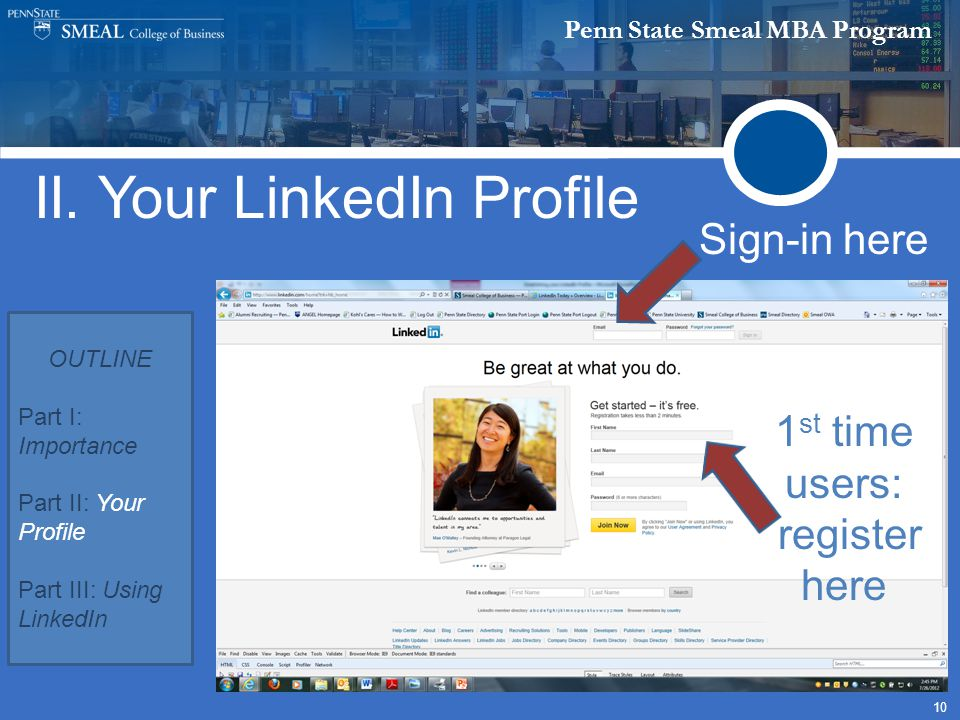 Penn State Smeal MBA Program 10 II.