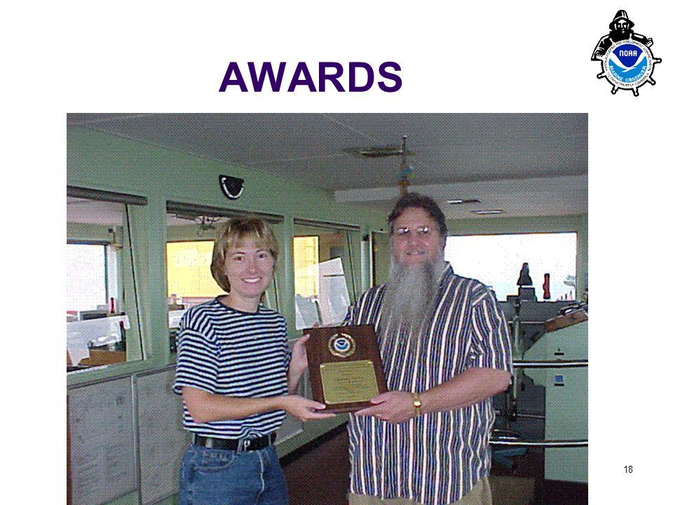PMO-III, 23-24 March 2006, Hamburg 18 AWARDS 2005 – 78 Ship Award plaques (CY2004) 2006 – 96 Ship Award plaques (CY2005)
