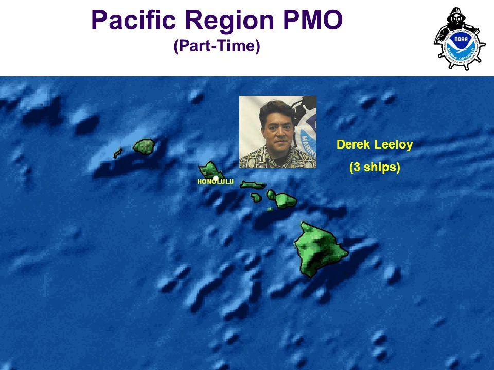 PMO-III, 23-24 March 2006, Hamburg 9 Derek Leeloy (3 ships) Pacific Region PMO (Part-Time)