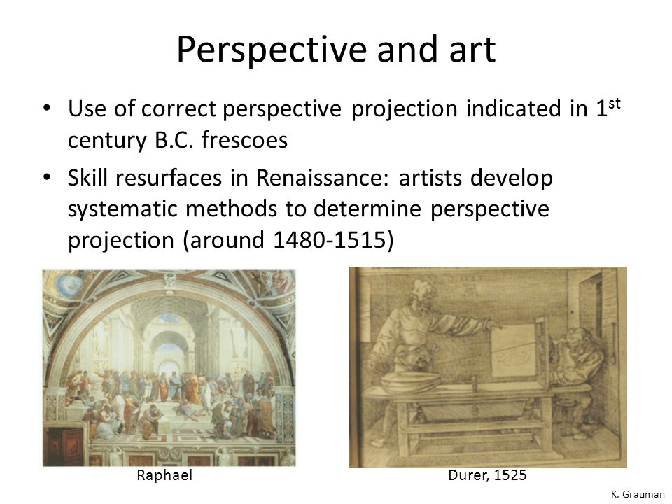 Recall, perspective effects… Far away objects appear smaller Forsyth and Ponce