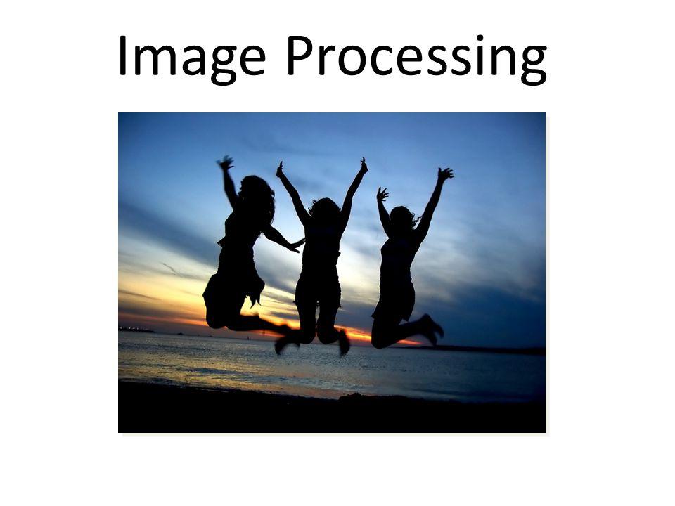 Overview ImagesPixel Filters Neighborhood Filters Dithering