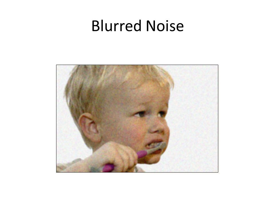 Blurred Noise