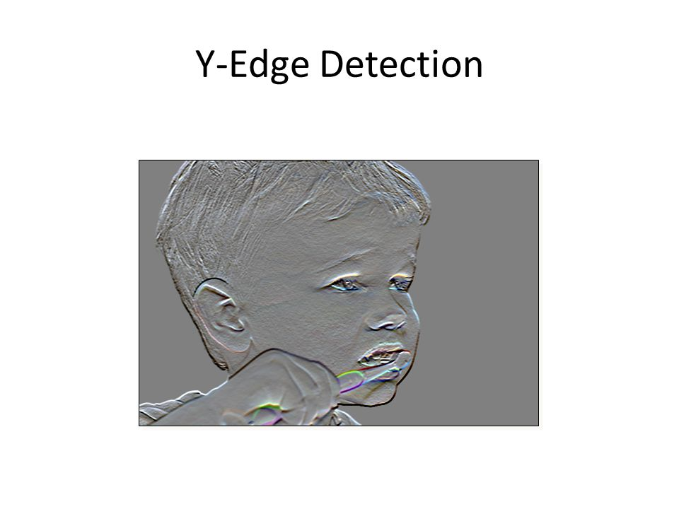 Y-Edge Detection