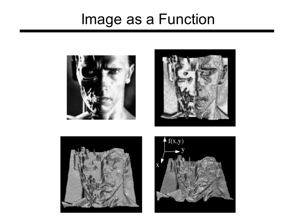 Image as a Function