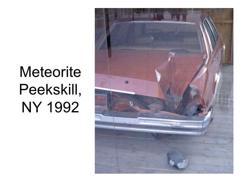 Meteorite Peekskill, NY 1992