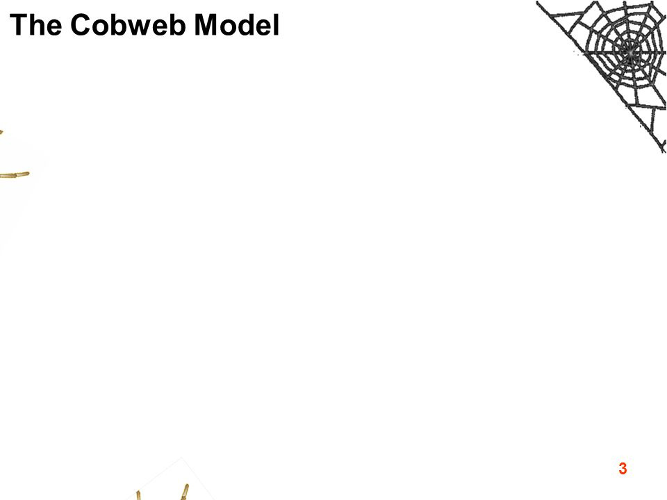 3 The Cobweb Model