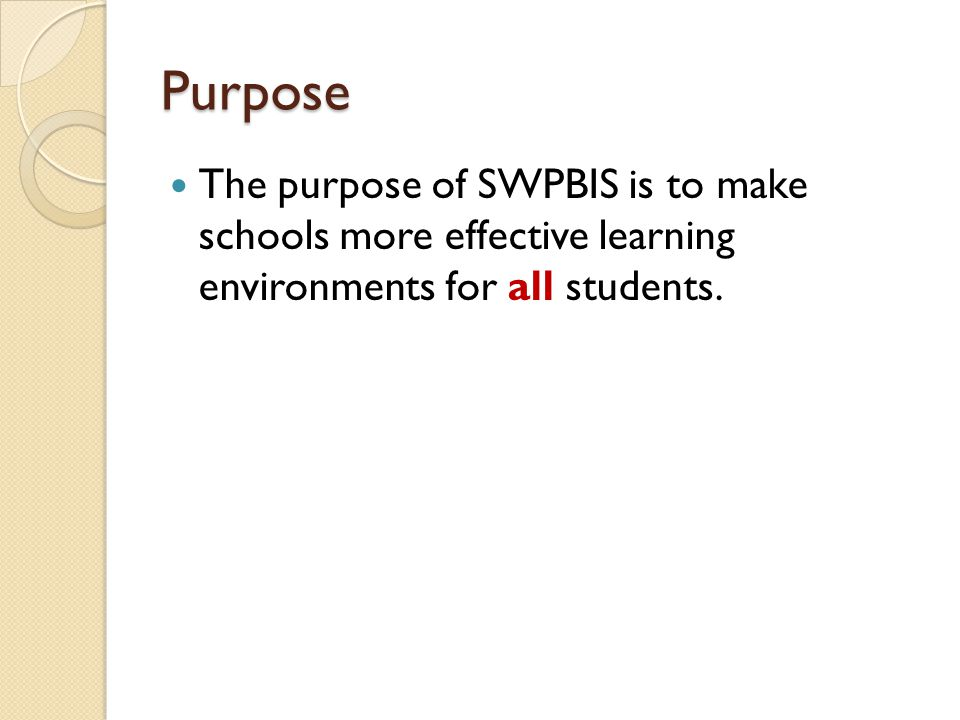 Summary SWPBIS is effective, possible and scalable Coaching is a core function within SWPBIS implementation  Coaching makes a difference Coaching involves a complex set of skills  Each of us should be able to identify the next set of coaching skills we are developing.