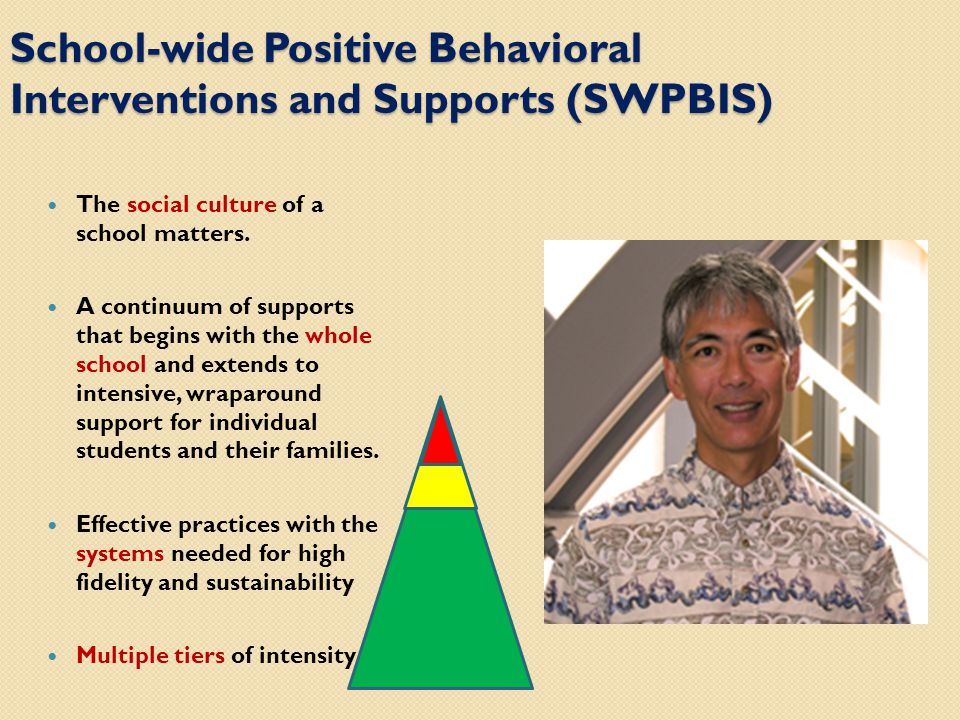 What is School-wide Positive Behavioral Interventions and Support.