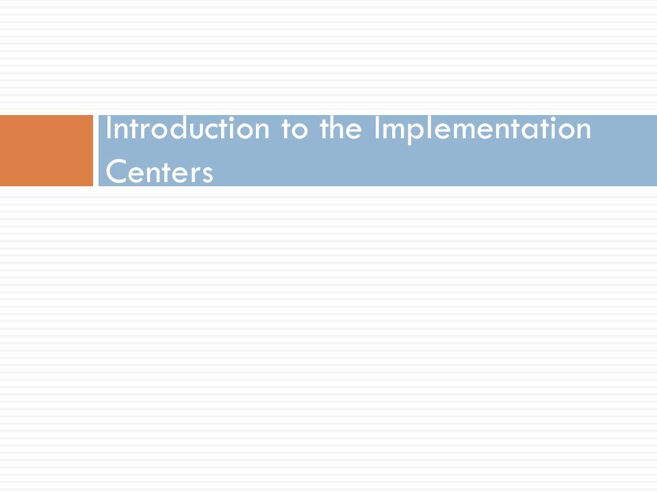 Understanding Implementation Science