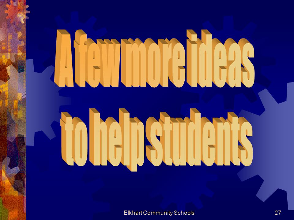 Elkhart Community Schools27