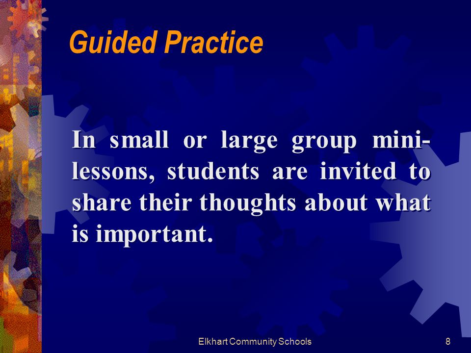 Preview a typical textbook chapter to identify salient features that students might overlook during their reading.