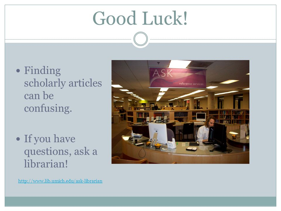 Good Luck. Finding scholarly articles can be confusing.