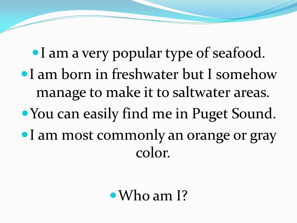 I am a Clownfish