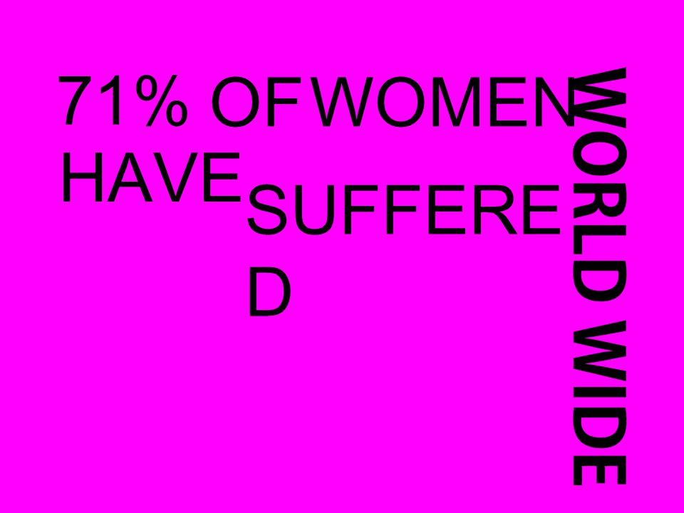 71% OFWOMEN HAVE