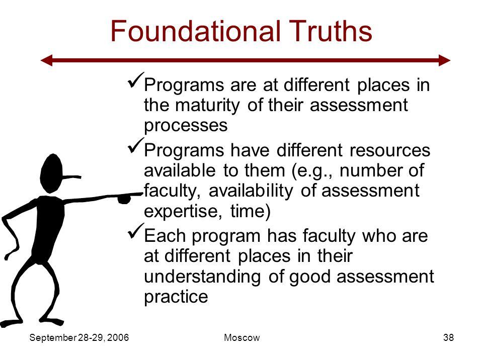 September 28-29, 2006 Gloria Rogers, Ph.D.