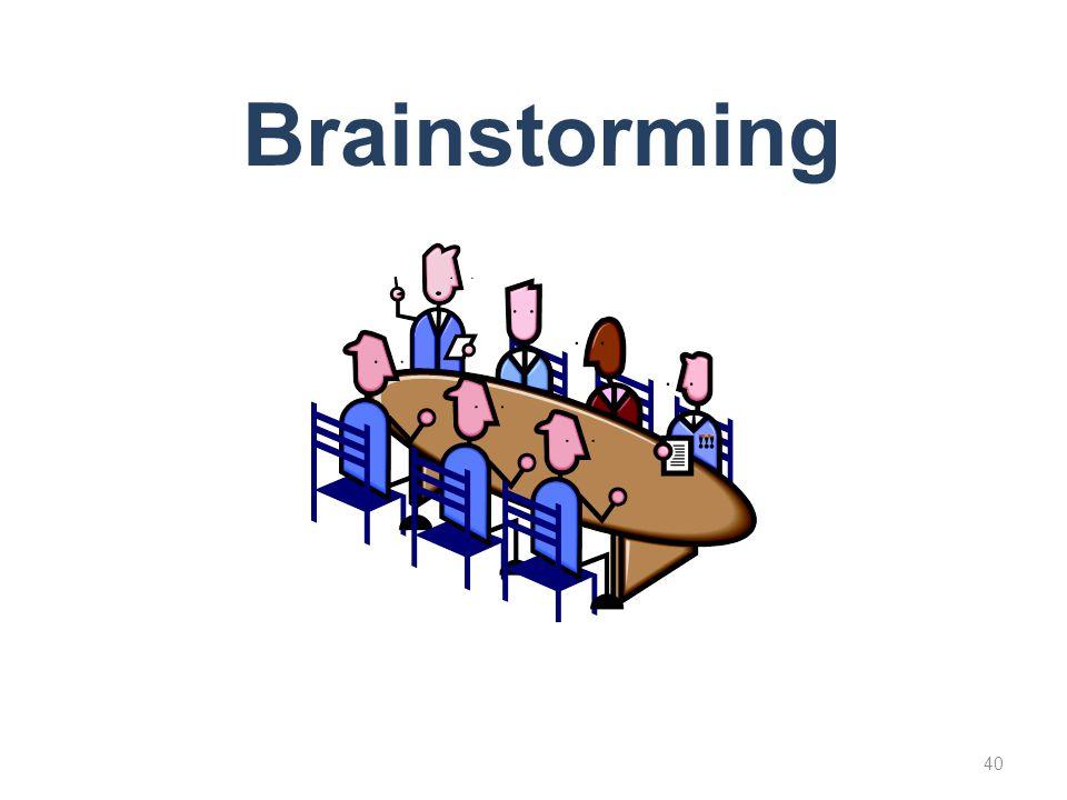 Brainstorming 40