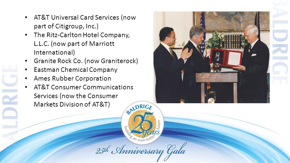 AT&T Universal Card Services (now part of Citigroup, Inc.) The Ritz ‑ Carlton Hotel Company, L.L.C.