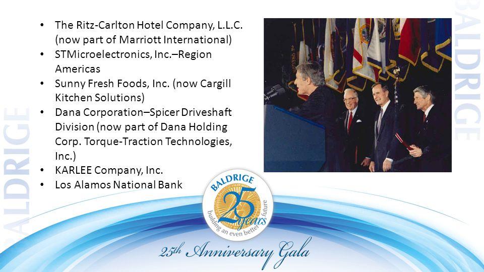The Ritz ‑ Carlton Hotel Company, L.L.C.