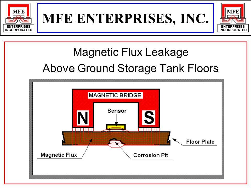 MFE ENTERPRISES, INC. Magnetic Flux Leakage Above Ground Storage Tank Floors