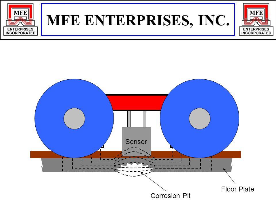 Floor Plate Corrosion Pit Sensor MFE ENTERPRISES, INC.