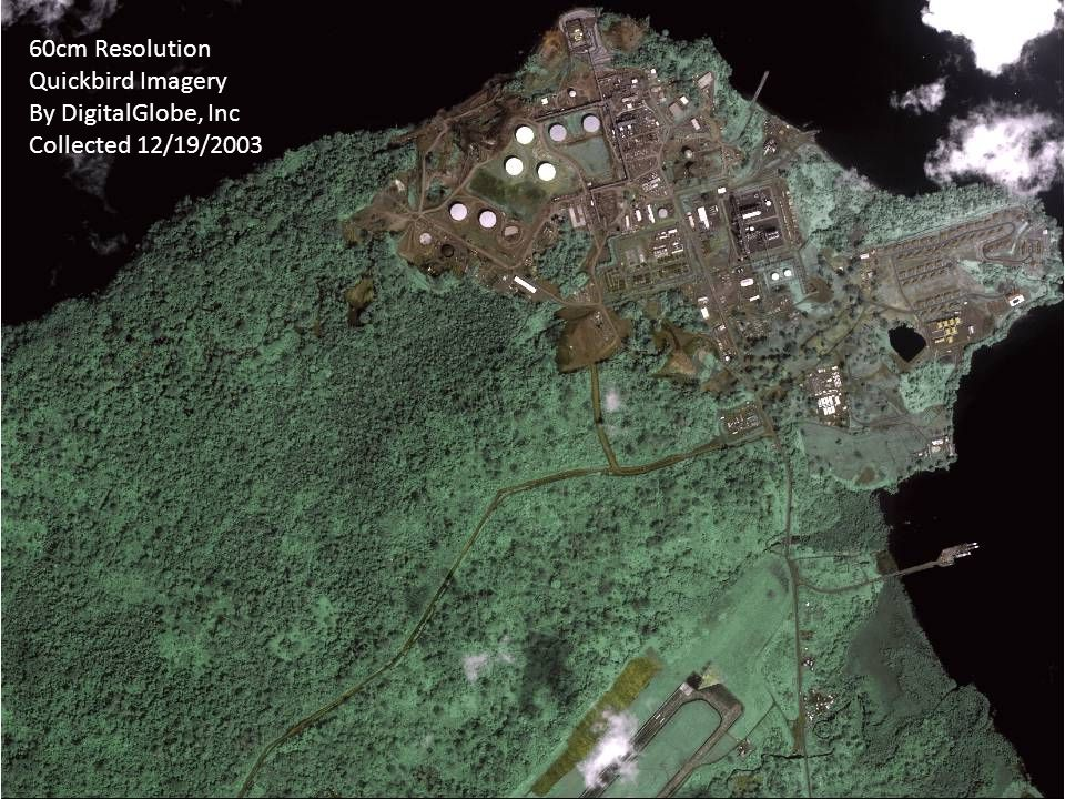 60cm Resolution Quickbird Imagery By DigitalGlobe, Inc Collected 12/19/2003