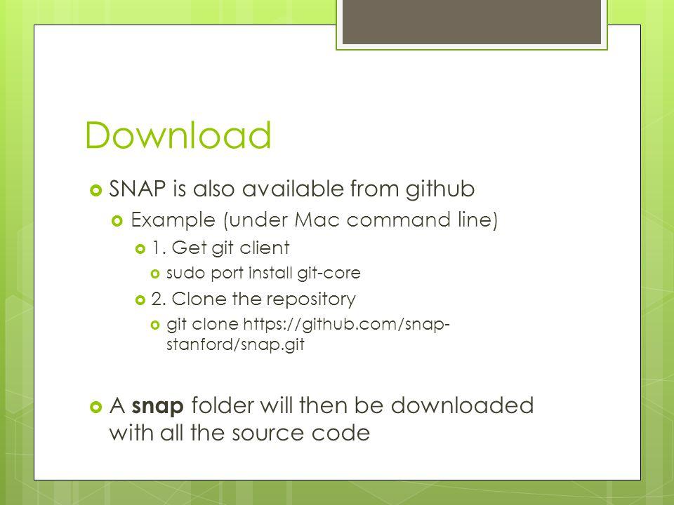 Installation (Windows)  1.Unzip  2. Go to subfolder examples  3.