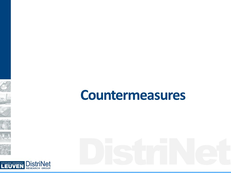 DistriNet Countermeasures