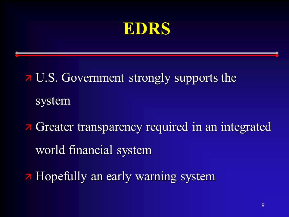 9 EDRS ä U.S.