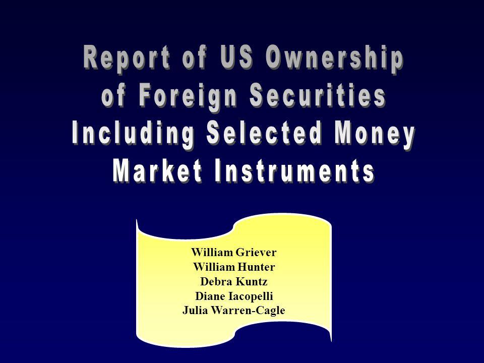 U.S. Portfolio Investment Surveys William Griever