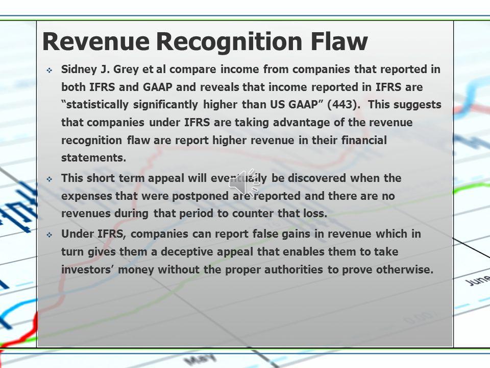 Revenue Recognition Flaw  Sidney J.