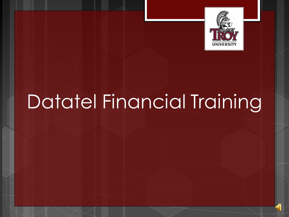 Datatel Financial Training