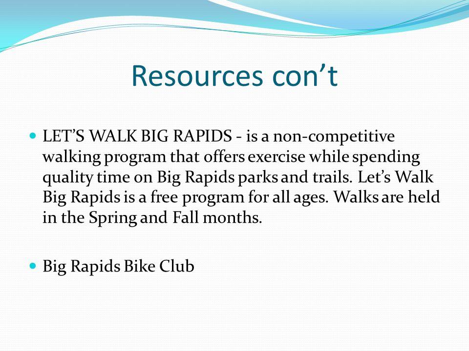 References City of Big Rapids Recreation.(2010).