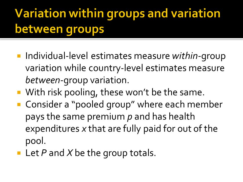  Individual-level estimates measure within-group variation while country-level estimates measure between-group variation.