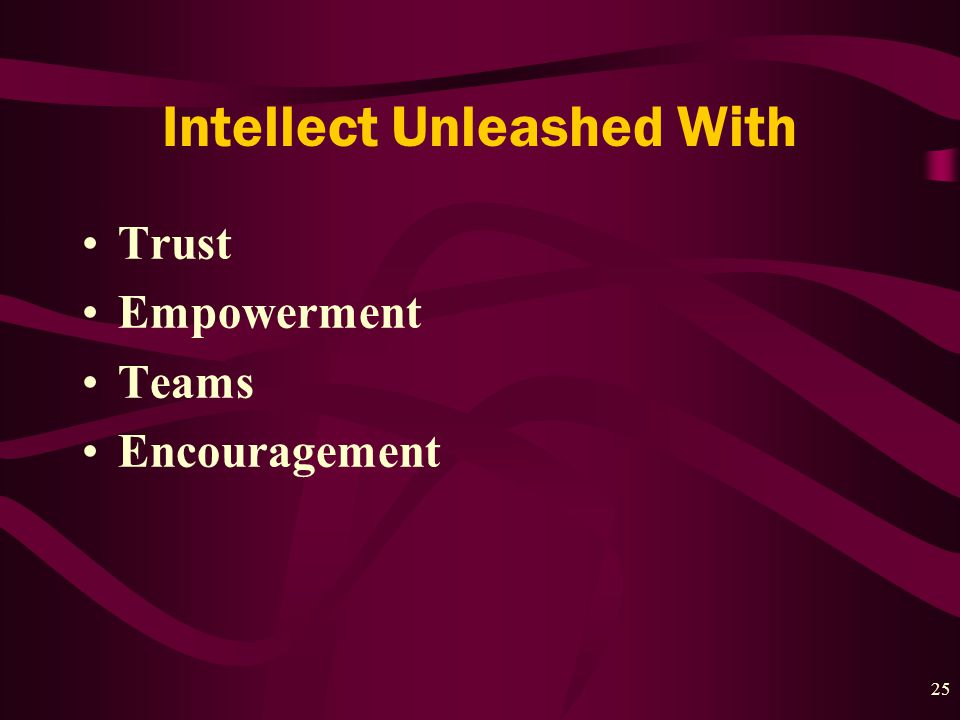25 Intellect Unleashed With Trust Empowerment Teams Encouragement