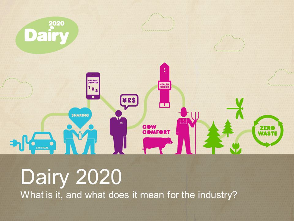 www.dairy2020.com What is Dairy 2020.